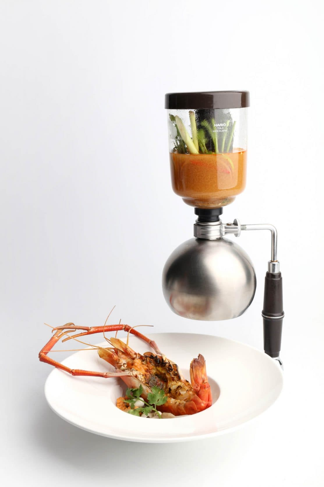 tom yum river king prawn